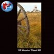 110 Wooden Wheel
